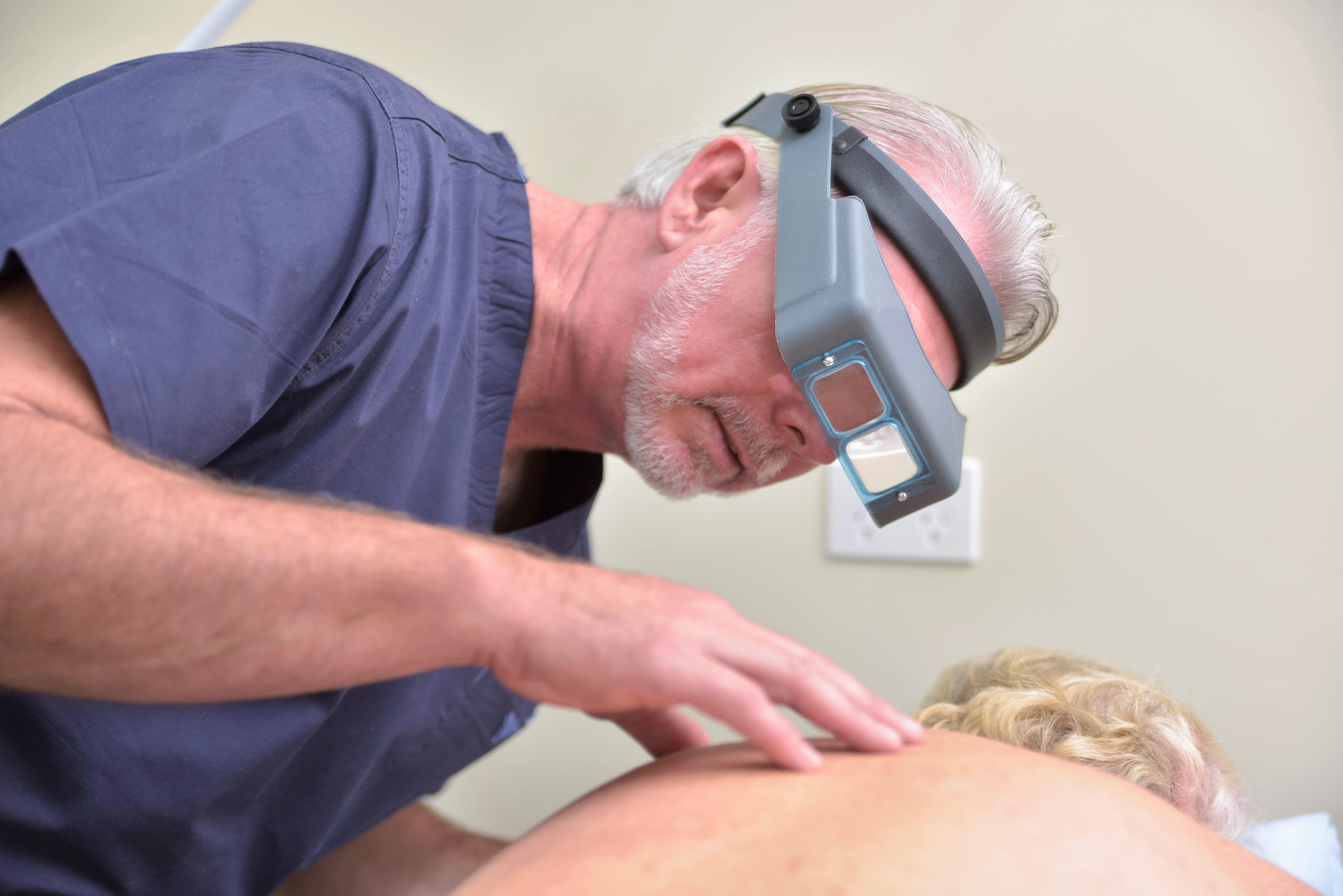 Full-body skin check