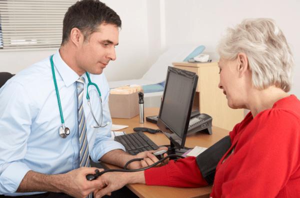 blood pressure health check