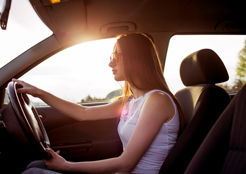 driving car skin cancer risk