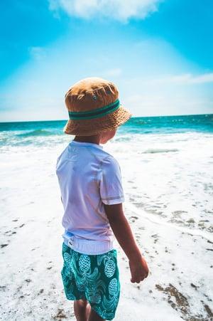 kid on beach-1